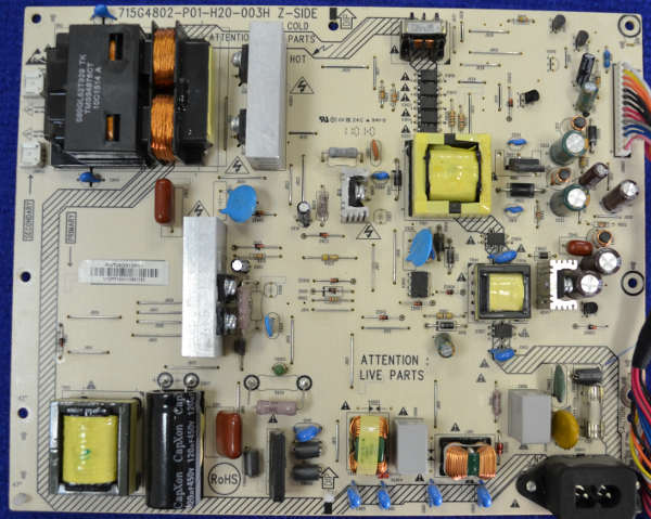 Power and Inverter Board 715G4802-P01-H20-003H от Philips 42PFL3606H/60