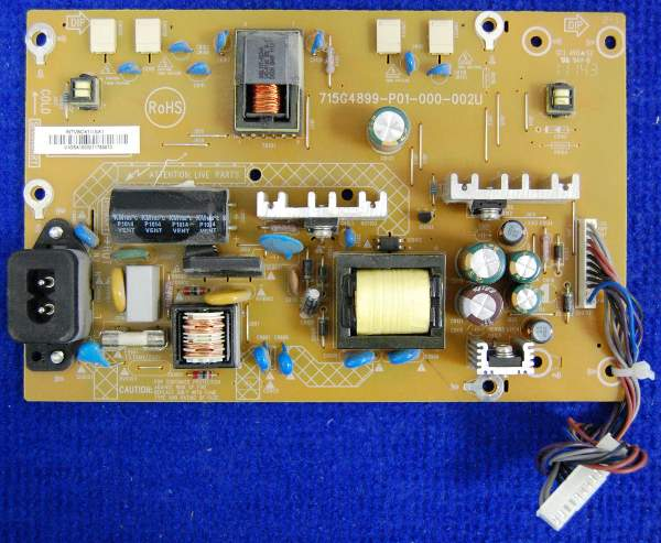 Power Supply Board 715G4899-P01-000-002U от телевизора Philips 22PFL3606H/60 TPM8.2E LA