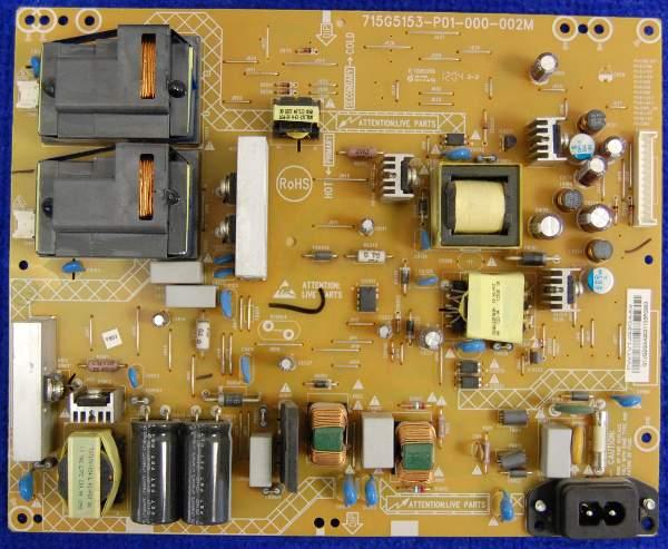 Power Supply Board 715G5153-P01-000-002M от телевизора Philips 42PFL3007H/60 TMP9.1E LA
