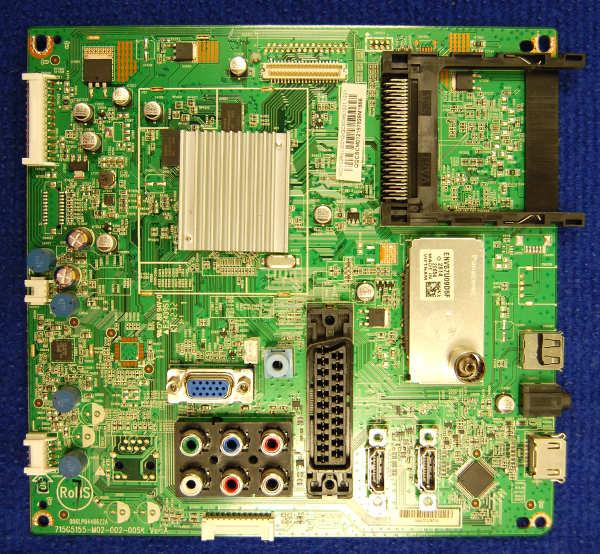 Main Board 715G5155-M02-002-005K (Ver: A) от телевизора Philips 40PFL3107H/60 TPM9.2E LA