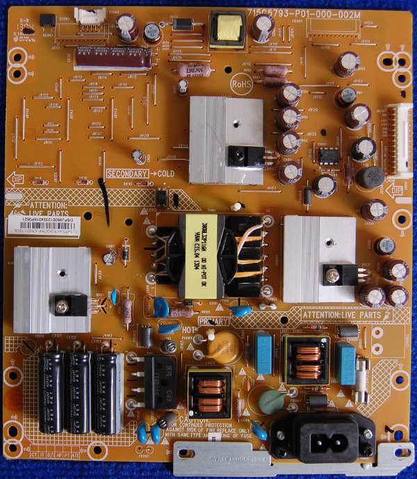 Power Supply Board 715G5793-P01-000-002M шасси TPM10.1E LA от телевизора Philips 32PFL5018T/60