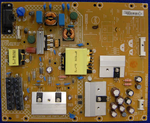 Power Supply Board 715G6353-P01-000-002H от телевизора Philips 42PFT5609/60