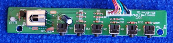 IR Button Board 782.PH42D8-050B
