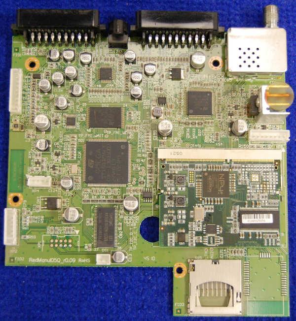 Материнская плата GS8300N с криптомодулем DRE от ресивера GS-8300N