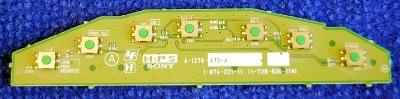 Button Board A-1276-475-A (1-874-221-11) от телевизора Sony KDL-26U3000