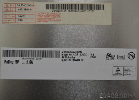 LCD A201SN02