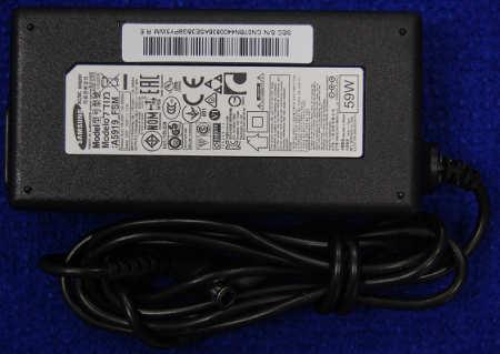 Блок питания A5919_FSM 19,0V 3,17A от телевизора Samsung UE32J5000AK, UE32J4000AK