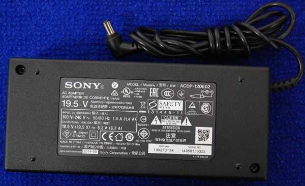 Блок питания ACDP-120E02 19,5V 6,2A от телевизора Sony KDL-50W829B
