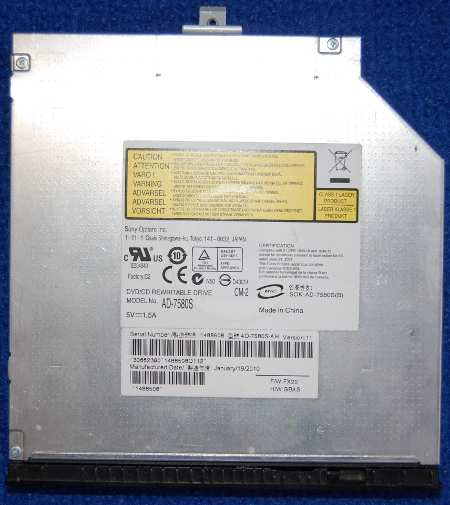 DVD/CD Rewritable Drive AD-7580S от ноутбука