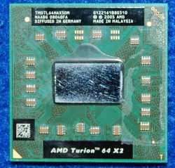 Процессор AMD Turion 64 X2 от ноутбука ASUS F5N