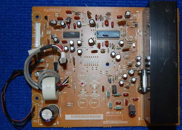 Audio Board AWZ6687 (ANP2001-D) от телевизора Pioneer PDP-503PE