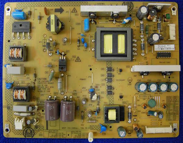 Power Supply Board B191-102 D27 Rev.C от телевизора Toshiba