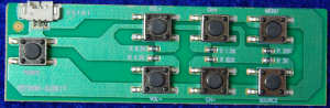 Button Board B55N99-628K1Y от телевизора BBK 40LEX-5026/FT2C
