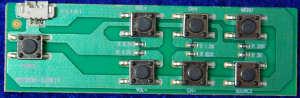 Button Board B55N99-628K1Y от телевизора BBK 40LEX-5026/FT2C