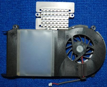 Вентилятор BA31-00043B от ноутбука Samsung NP-R20Y, б/у