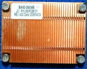 Радиатор охлаждения BA62-00434B от ноутбука Samsung NP-R20Y