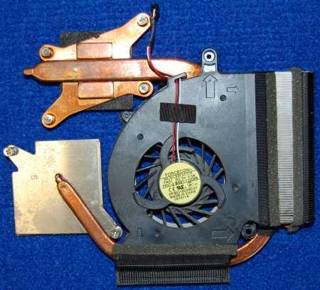 Система охлаждения BA62-00536B от ноутбука Samsung NP-RC530