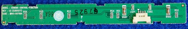 Button Board BN41-00709A от телевизора Samsung LE32S81BX/BWT, LE40A330J1