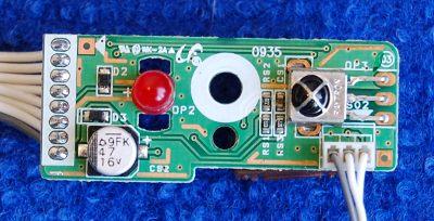 Infrared Board BN41-00990A  от телевизора Samsung LE40B530P7W, LE40A451C1, LE32B531P7W