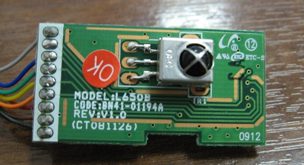 Infrared Board BN41-01194A от Samsung LE46B620R3W