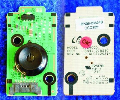 Power Button BN96-23694B от телевизора Samsung UE32EH4030W, UE26EH4000W