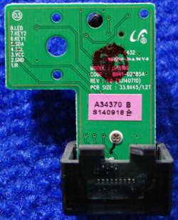 IR Board BN41-02885A от телевизора Samsung UE48H5203AK