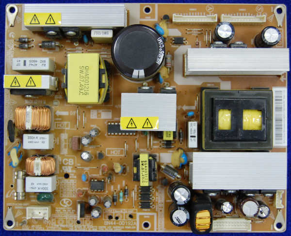 Power Supply Board BN44-00192A от телевизора Samsung