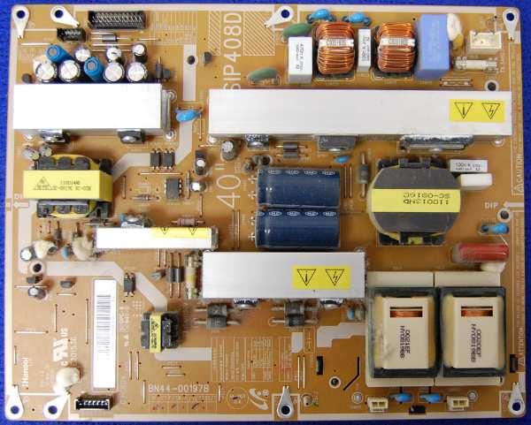 Power Supply Board BN44-00197B от телевизора Samsung LE40A430T1XRU, LE40A330J1