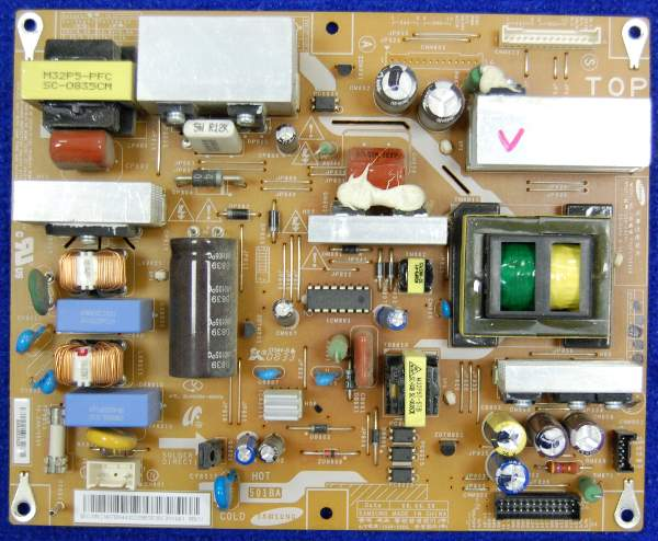 Power Supply Board BN44-00208B CS61-0406-01A PSLF171501B от телевизора Samsung LE26A330J1