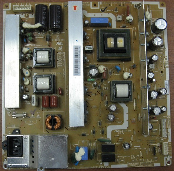 Power Supply Board BN44-00329A от телевизора Samsung PS42C450B1W, PS42C430A1W