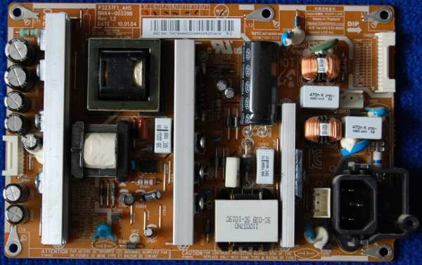 Power Supply Board BN44-00339B от телевизора Samsung