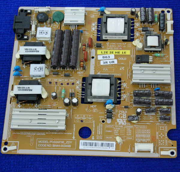 Power Supply Board BN44-00349B от телевизора Samsung UE26C4000