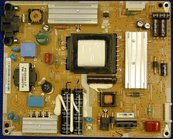 Power Supply Board BN44-00460A от телевизора Samsung UE32D5520RW, UE32D5000PW