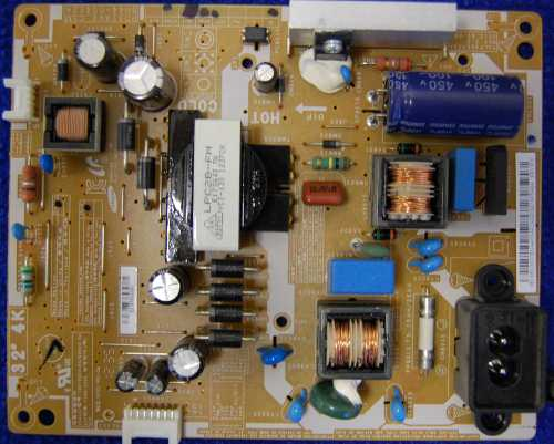 Power Supply Board BN44-00492A от телевизора Samsung UE32EH4030W, UE32EH4000W