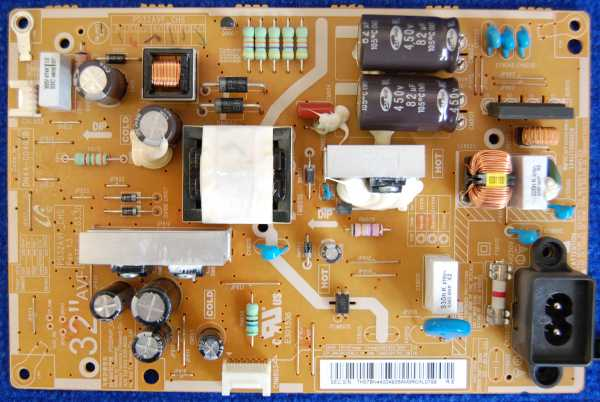 Power Supply Board BN44-00493B от телевизора Samsung UE32EH5047K