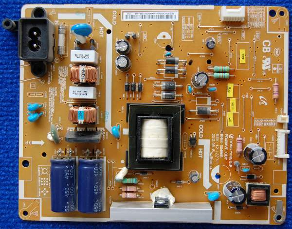Power Supply Board BN44-00496B PD40AVF_CDY REV: 1.2 от телевизора Samsung UE39EH5003W