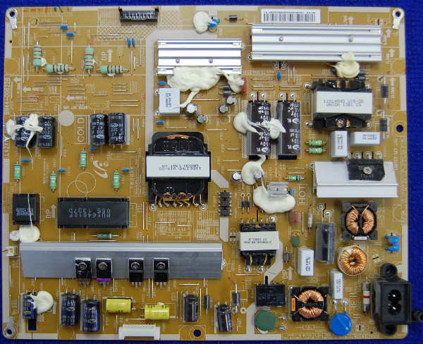 Power Supply Board BN44-00622B от телевизора Samsung UE40F6500AB, UE40F6400AK