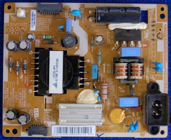 Power Supply Board BN44-00695A от телевизора Samsung T28D310EX (LT28D310)