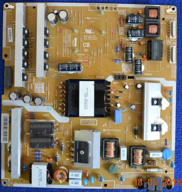 Power Supply Board BN44-00727A от Samsung UE48H6800AU