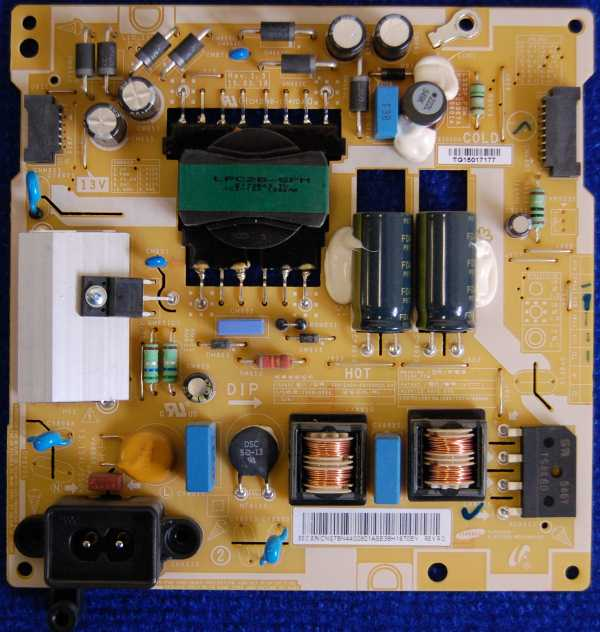 Power Supply Board BN44-00801A от телевизора Samsung LT32E310EX