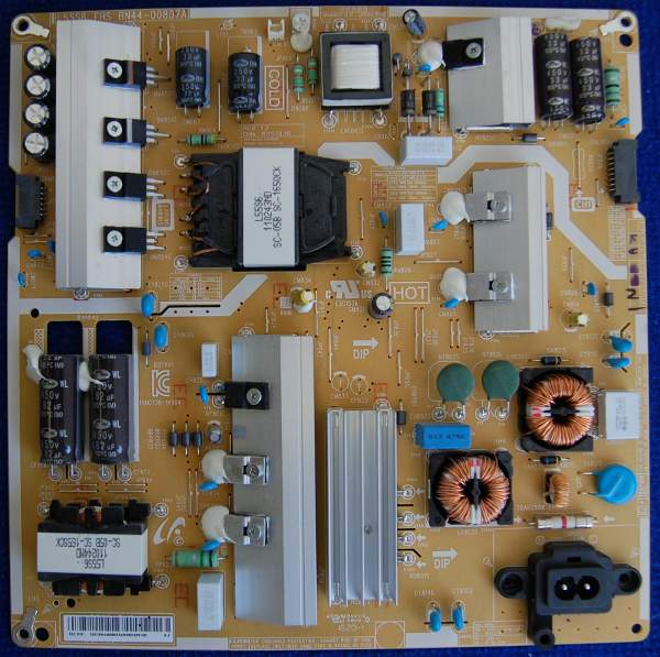 Power Supply Board BN44-00807A от телевизора Samsung UE49KU6300UXRU