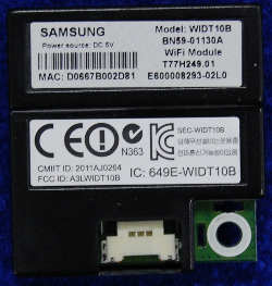 WiFi Module BN59-01130A от телевизора Samsung UE46D6530WSX