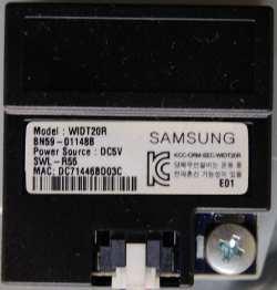 Wi-Fi Module BN59-01148B от телевизора Samsung UE37ES6307U, UE55ES6547U