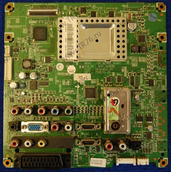 Main Board BN94-02122P BN41-00982B от телевизора Samsung LE40A330J1
