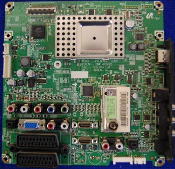 Main Board BN41-00982B BN94-02123E от телевизора Samsung LE37A430T1