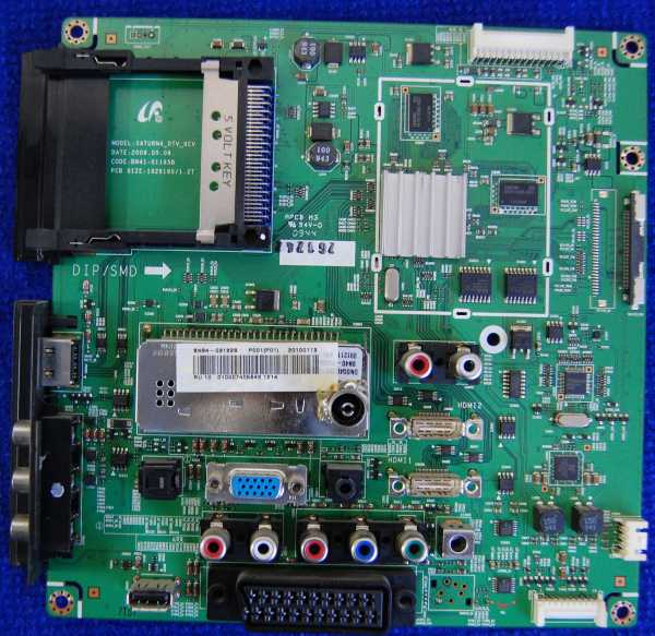 Main Board BN41-01165B BN94-03132S от телевизора Samsung LE32B530P7W