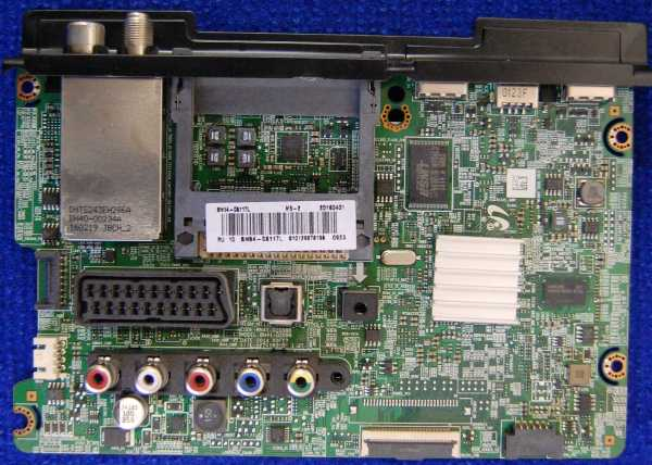 Main Board BN41-02098B BN94-08117L от телевизора Samsung UE40J5100AU