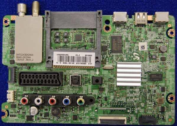 Main Board BN94-08119E (BN41-02098B) от телевизора Samsung UE40J5120AU