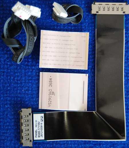 Шлейф BN96-17116V от телевизора Samsung UE32EH5047K