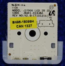IR Board BN96-18099H от телевизора Samsung UE46D6530WSX